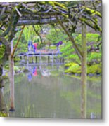 View From An Arbor Metal Print