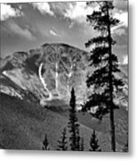 View From Atop Winter Park Mountain 2 Metal Print