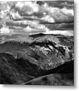 View From Atop Winter Park Mountain 3 Metal Print