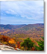 View From Bear Mountain Metal Print