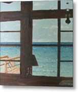 View From Blue House II Metal Print