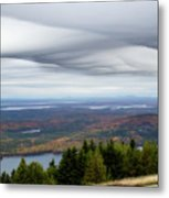 View From Cadillac Mountain Metal Print