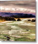 View From Ecola II Metal Print