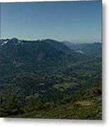 View From Elk Mountain Metal Print
