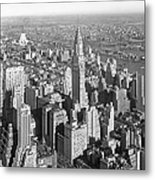 View From Empire State Bldg. Metal Print
