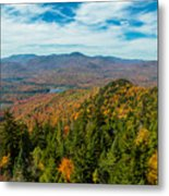 View From Goodnow Metal Print