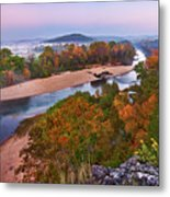 View From Greens Cave Bluff Metal Print
