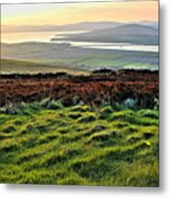 View From Grianan Fort Metal Print