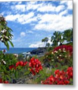 View From Keauhou Kona Metal Print