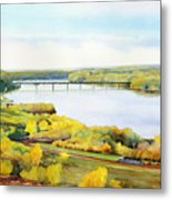 View From Lover's Leap Metal Print