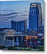 View From Lp Field Metal Print