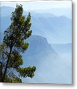 View From Montserrat, Spain Metal Print