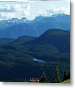 View From Mt. Wahington II Metal Print