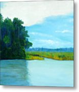 View From Old Kings Bridge Metal Print