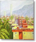 View From Our Balcony Metal Print
