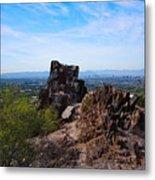 View From Piestewa Peak Metal Print