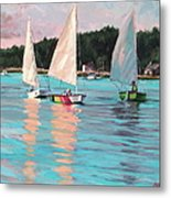 View From Rich's Boat Metal Print