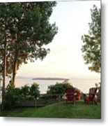 View From Ring Dang Doo South Hero Vermont Metal Print