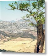 View From Ronda Spain Metal Print