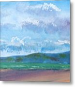 View From Sandy Bay Exmouth Metal Print