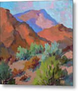 View From Santa Rosa - San Jacinto Visitor Center Metal Print