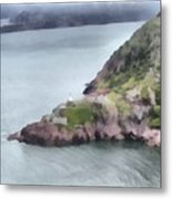 View From Signal Hill Metal Print