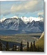View From Sulpher Mountain Metal Print