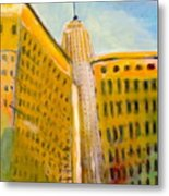 View From The 33 St Metal Print