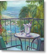 View From The Balcony Metal Print