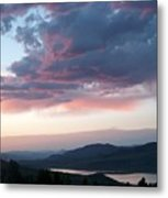 View From The Cabin Near Heeney Colorado  Metal Print