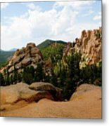 View From The Crags Metal Print