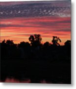 View From The Deck Metal Print