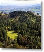 View From The Griffith Observatory 0792 Metal Print