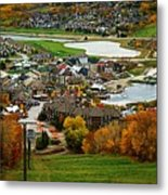 View From The Mountain Metal Print