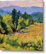 View From The Orchard Metal Print