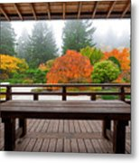 View From The Pavilion Metal Print