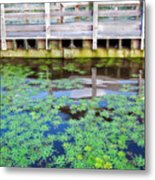 View From The Pier Metal Print