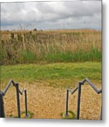 View From The Porch Metal Print