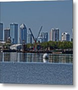 View From The Port Metal Print