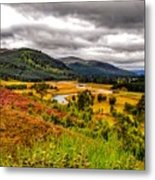View From The River Dee Metal Print