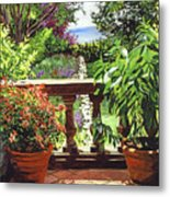 View From The Royal Garden Metal Print