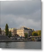 View From The Seine Metal Print