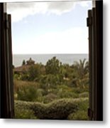View From The Shed Metal Print