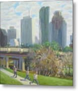 View From The Skate Board Park Metal Print