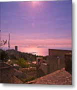 View From The Top In Sicily 2 Metal Print