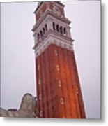 View From The Top Of St Marks Basilica Metal Print