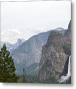 View From The Valley Metal Print