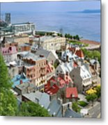 View From The Wall Metal Print