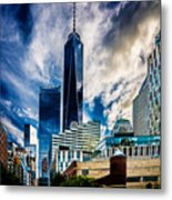 View From Tribeca Metal Print