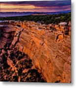 View From Upper Ute Canyon, Colorado National Monument Metal Print